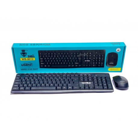 Kit gamer mouse y teclado inalambrico