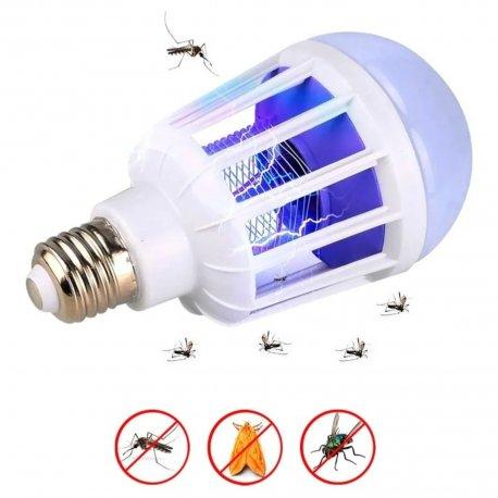 Lampara foco mosquitera 2 en 1 (9w)