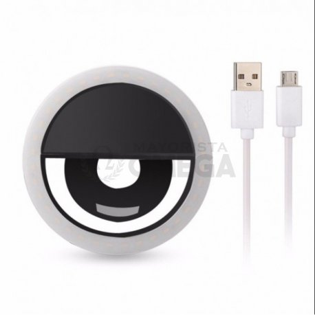 Aro led para celular con USB