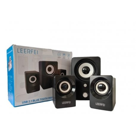 Parlante PC mini home theater 2.1 subwoofer