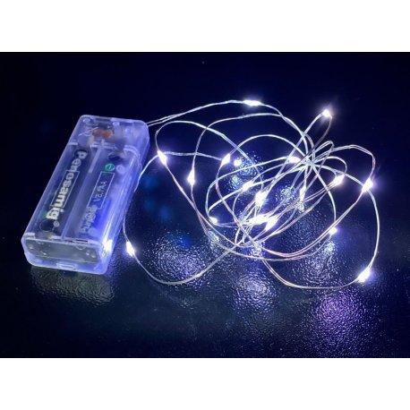Luz decorativa a pila 20 leds