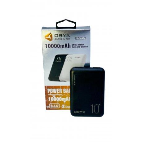 """Cargador portátil Power Bank """"ORYX"""" 10000mah"""