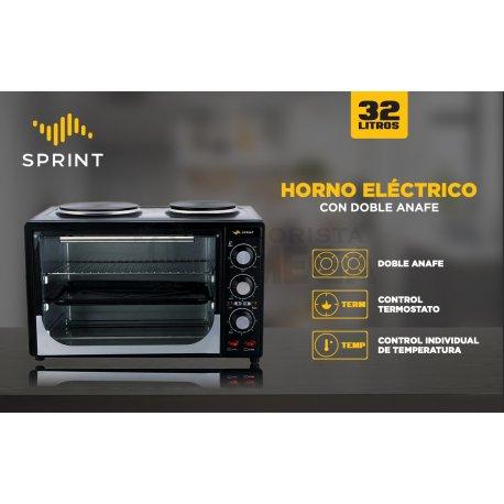 "Horno eléctrico c/dos anafe ""SPRINT"""